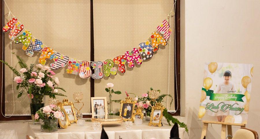 Chúc mừng sinh nhật thiên thần nhỏ của Mẹ